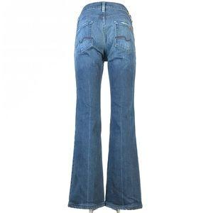 7 for all mankind high waist bootcut 30x30
